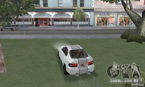 Toyota Celica GT4 2000 para GTA San Andreas esquerda vista