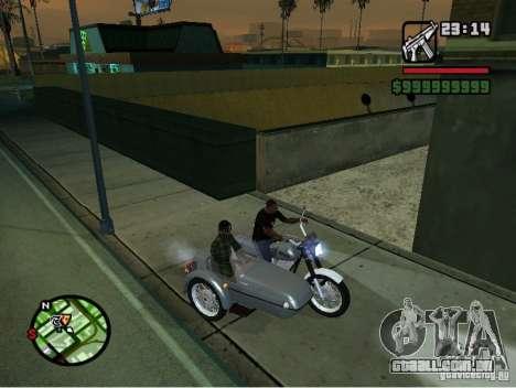 IZH Planeta -5 para GTA San Andreas vista traseira