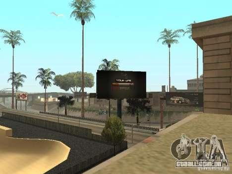 O novo velopark em LS para GTA San Andreas por diante tela