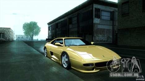 Ferrari F355 Challenge 1995 para vista lateral GTA San Andreas