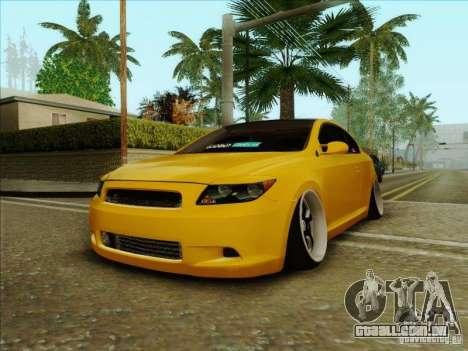 Scion tC 2012 para GTA San Andreas