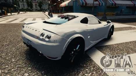 Ascari KZ1 v1.0 para GTA 4 esquerda vista