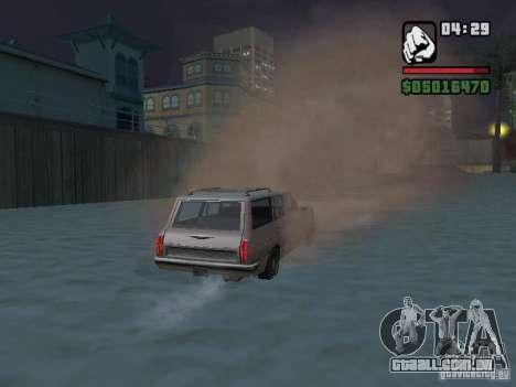 New Realistic Effects para GTA San Andreas nono tela