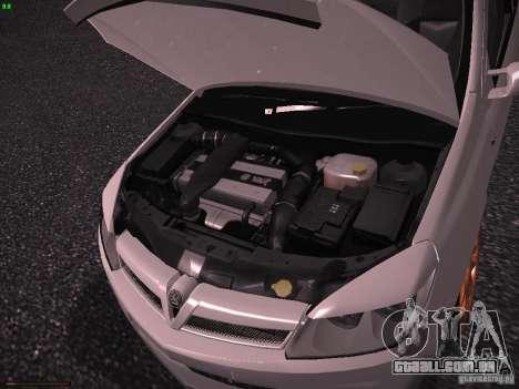 Vauxhall Astra VXR Tuned para GTA San Andreas vista traseira
