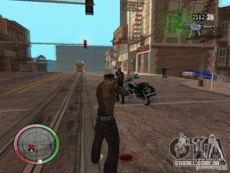 GTA IV HUD v4 by shama123 para GTA San Andreas terceira tela