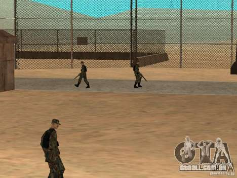 Animada área 69 para GTA San Andreas sexta tela