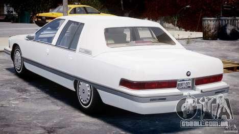 Buick Roadmaster Sedan 1996 v1.0 para GTA 4 vista direita