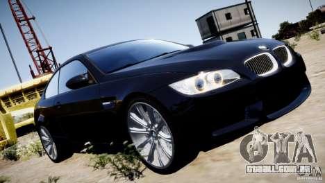 BMW M3 E92 para GTA 4 interior