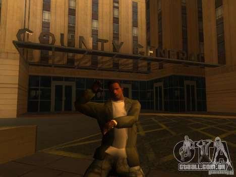 Gangam Style para GTA San Andreas por diante tela