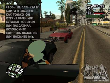 Lula Molusco para GTA San Andreas oitavo tela