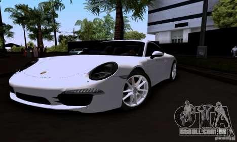 Porsche 911 Carrera S para GTA San Andreas
