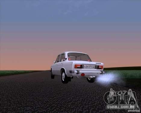 VAZ 2106 para GTA San Andreas vista direita