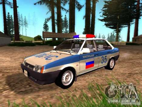 Polícia de 2109 VAZ para GTA San Andreas