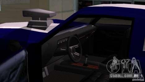New Phoenix para GTA San Andreas traseira esquerda vista