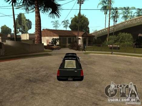 Cadillac DTS 2008 para GTA San Andreas traseira esquerda vista