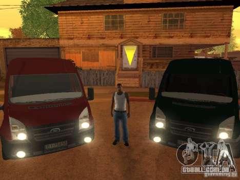 Ford Transit 350L para GTA San Andreas