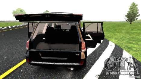 Toyota Land Cruiser 200 RESTALE para GTA 4 interior