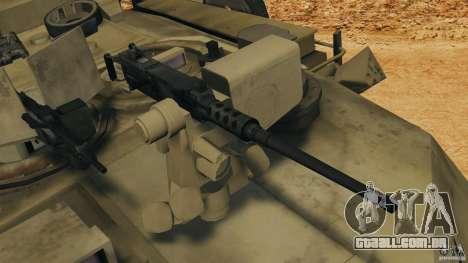 M1A2 Abrams para GTA 4 vista inferior