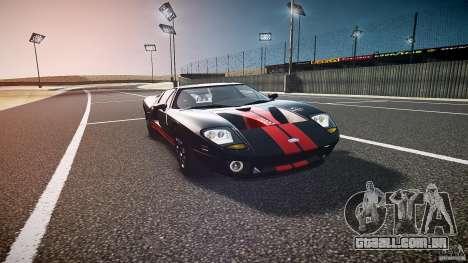 Ford GT1000 2006 Hennessey [EPM] STREET BURNING para GTA 4 vista de volta
