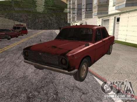 Volga Gaz M24-Rusty morte para GTA San Andreas