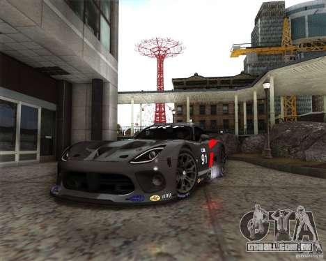 SRT Viper GTS-R V1.0 para GTA San Andreas esquerda vista
