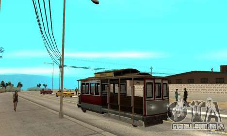 Tram para GTA San Andreas
