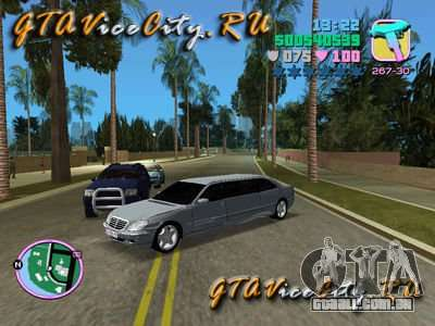 Mercedes-Benz S600L para GTA Vice City