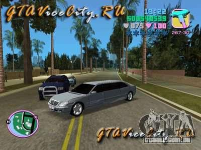 Mercedes-Benz S600L para GTA Vice City