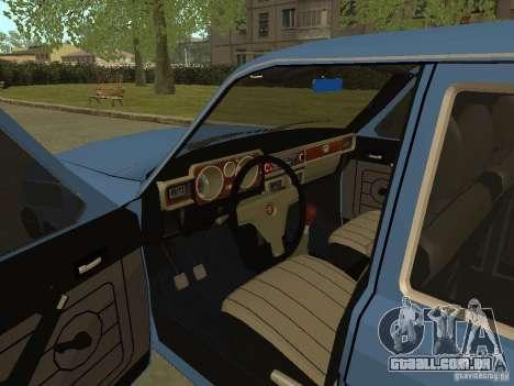 GAZ Volga 31022 para GTA San Andreas vista traseira