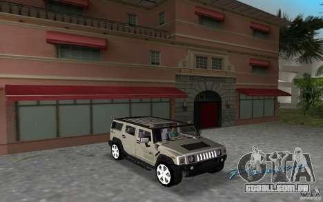 AMG H2 HUMMER para GTA Vice City