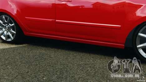 Chevrolet Agile para GTA 4 vista superior