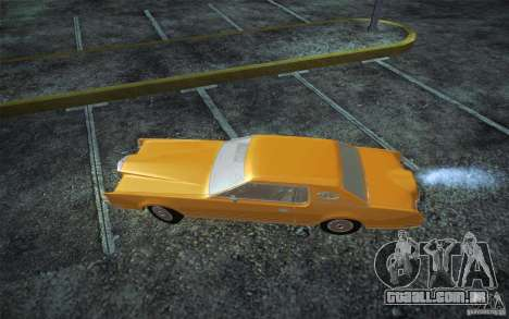 Lincoln Continental Mark IV 1972 para GTA San Andreas esquerda vista