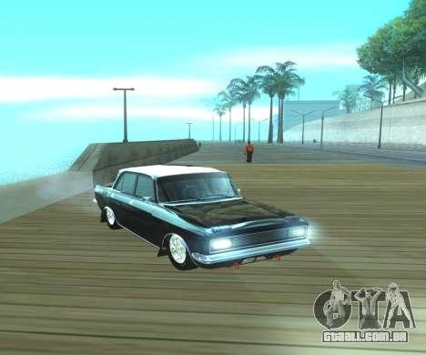Dragster Moskvich 2140 para GTA San Andreas