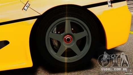 Ferrari F50 GT 1996 para GTA 4 vista lateral