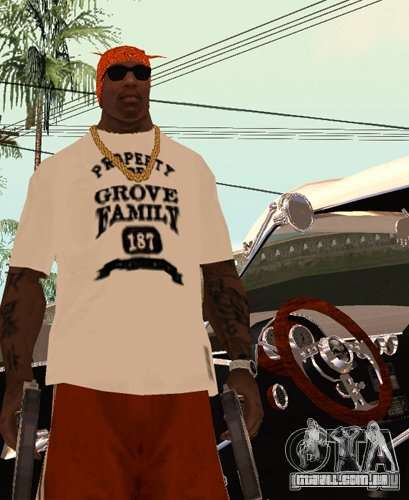 Bandas de substituição, tatuagens, roupas, etc. para GTA San Andreas terceira tela