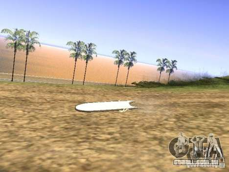Aèrobord do filme de volta para o futuro 2 para GTA San Andreas
