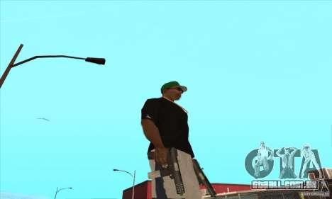 WEAPON BY SWORD para GTA San Andreas décima primeira imagem de tela