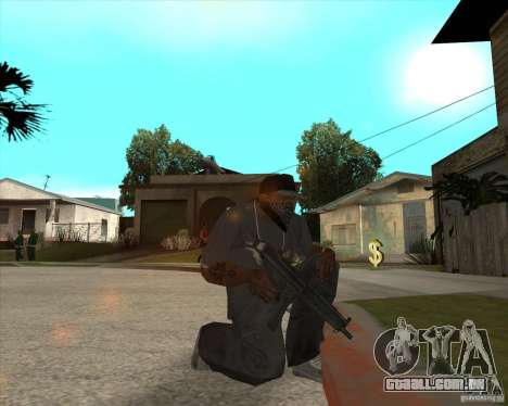 Resident Evil 4 weapon pack para GTA San Andreas nono tela