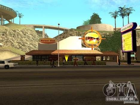 New Burger Shot para GTA San Andreas