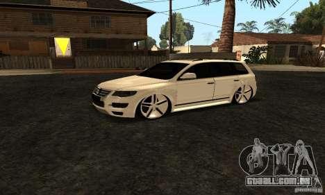 Volkswagen Touareg Dag Style para GTA San Andreas vista direita