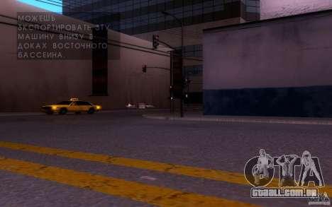 ENBSeries by muSHa v1.5 para GTA San Andreas segunda tela