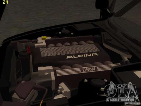 BMW E34 Alpina B10 Bi-Turbo para vista lateral GTA San Andreas