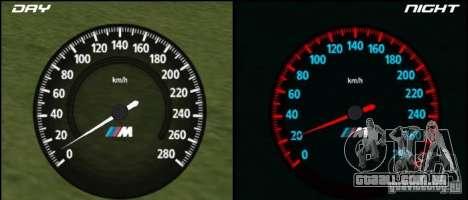 Novo velocímetro BMW para GTA San Andreas