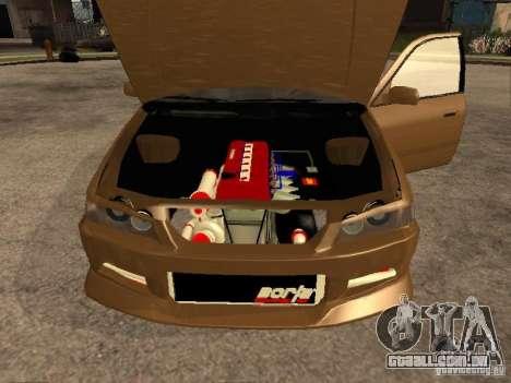 Toyota Camry 2002 TRD para GTA San Andreas vista direita