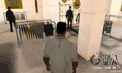 Batman bandana para GTA San Andreas terceira tela