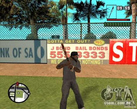 Pedaços sangrentos para GTA San Andreas segunda tela