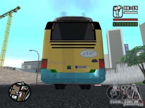 CitySolo 12 para GTA San Andreas vista traseira