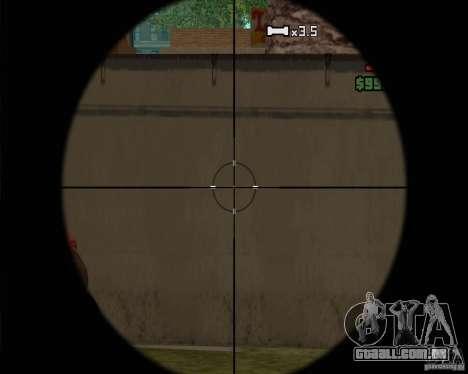 Sinos e assobios para armas para GTA San Andreas sétima tela