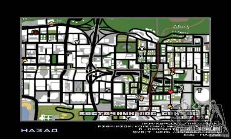 Lavagem de carro para GTA San Andreas terceira tela