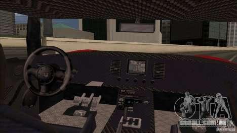 Bullet HD para GTA San Andreas traseira esquerda vista